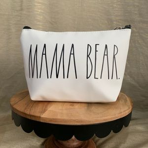 "Rae Dunn ""Mama Bear"" make up pouch"